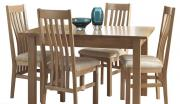 corndell nimbus extending dining table with 4 chairs