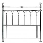 bentley krystal nickel double headboard