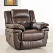 Augustine Manual Recliner Chair in leather