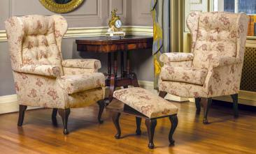 sherborne brompton fireside chairs
