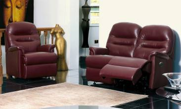 sherborne keswick leather sofas, recliners and chairs