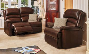 sherborne olivia leather suite