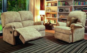 Sherborne Nevada Reclining 2 seater sofa and chair