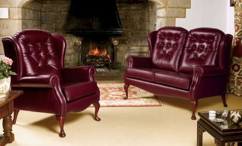 sherborne lynton fireside leather sofas and chairs