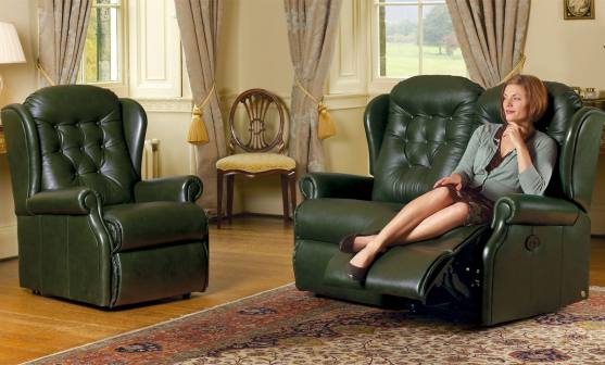 sherborne lynton leather sofas, recliners and chairs