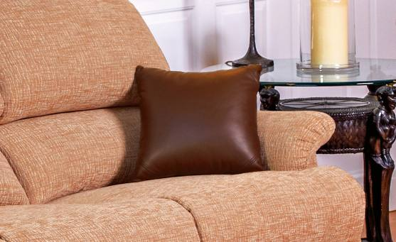 Scatter Cushion - Leather