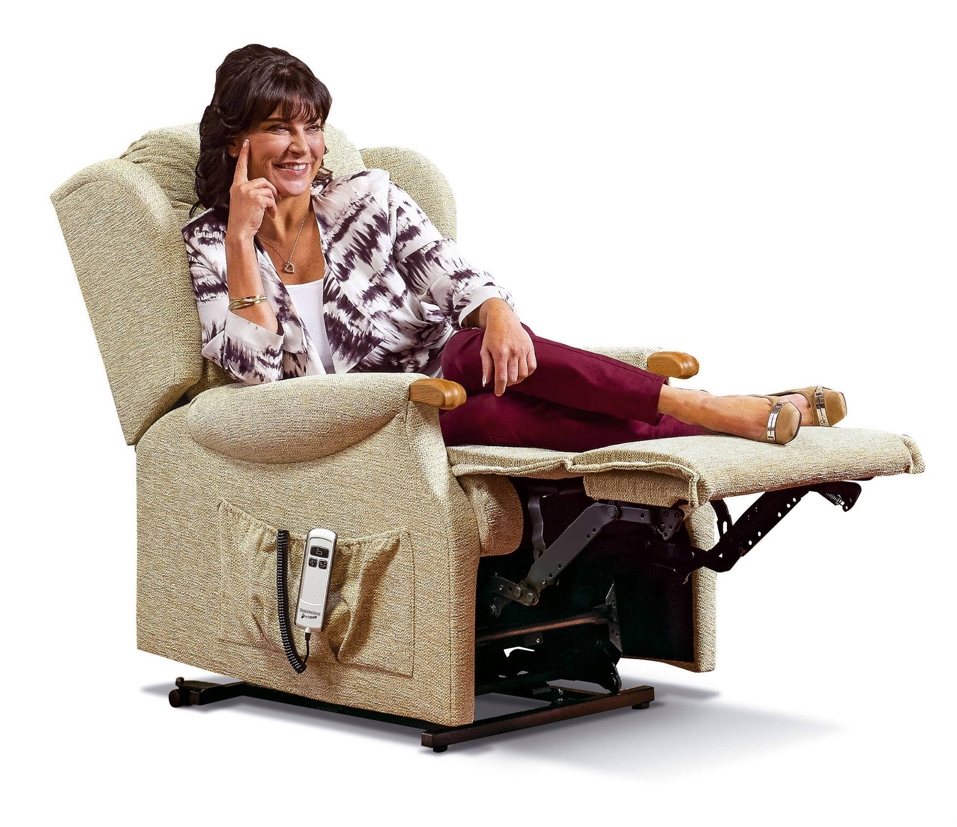Sherborne Lynton Knuckle Small Electric Riser Recliner