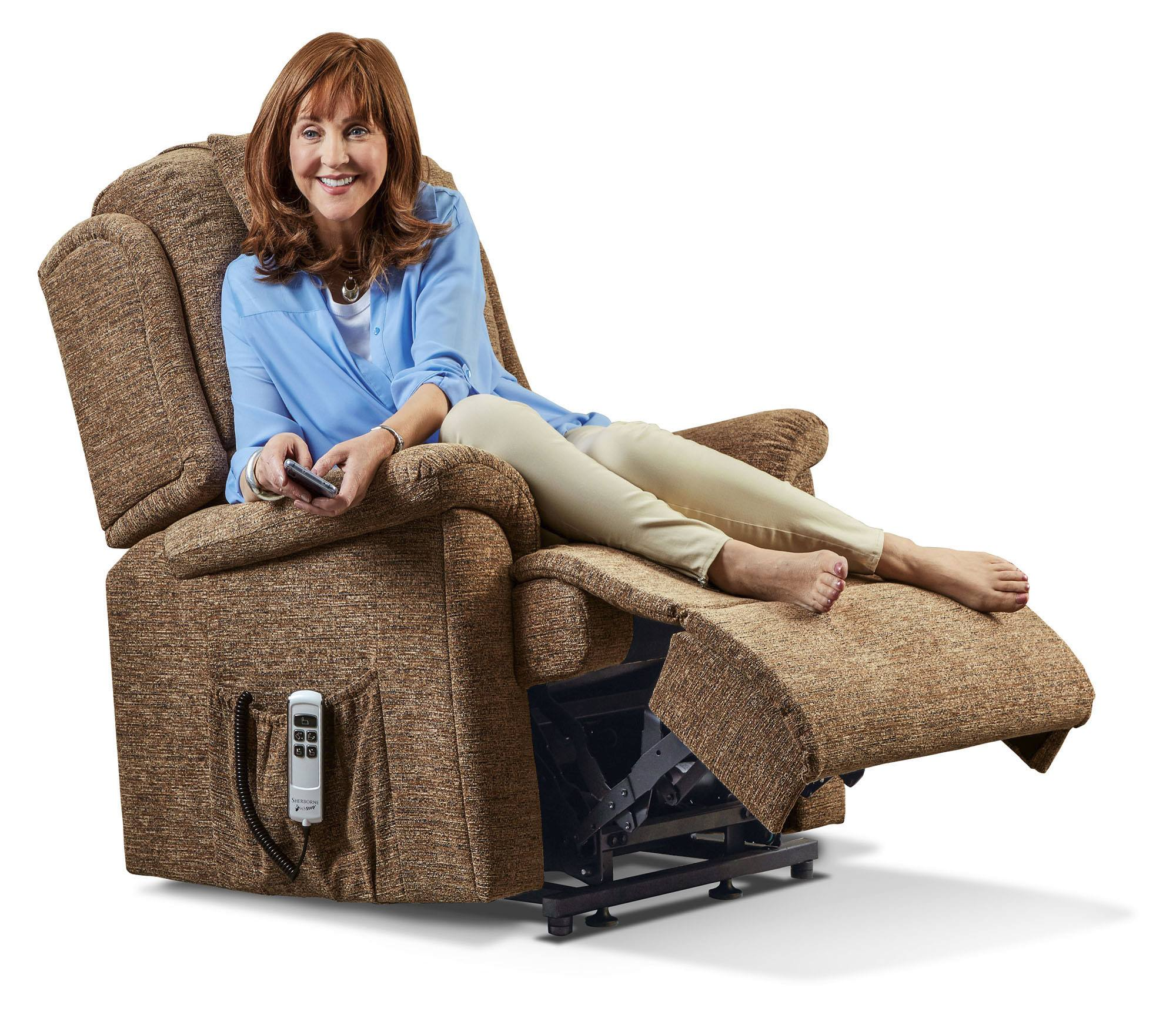 Sherborne Virginia Small Electric Riser Recliner Chair
