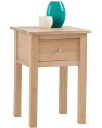 corndell nimbus lamp table with drawer