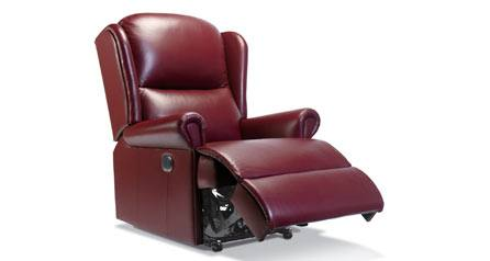 Sherborne Milburn Petite Leather Recliner Chair