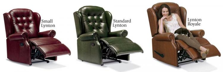 sherborne lynton leather reclining chair range
