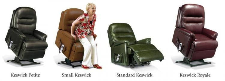 sherborne keswick leather lift & rise range