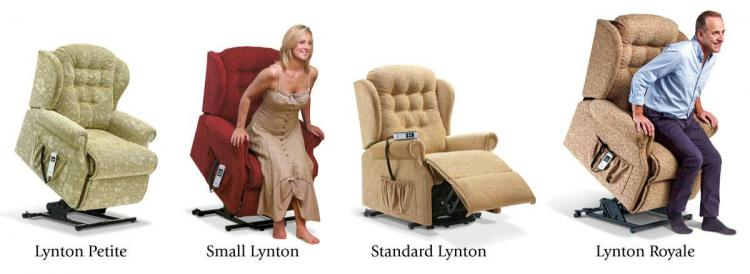 sherborne lynton lift and rise recliner chair range