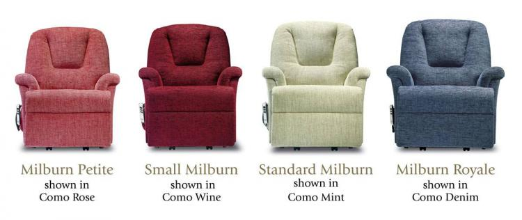 sherborne milburn lift & rise recliner chairs