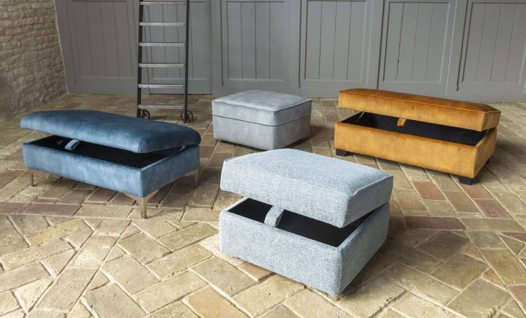 Alstons Cosy collection of Footstools & Ottomans
