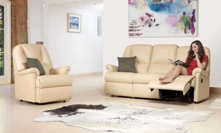 Sherborne Milburn Leather Sofas, Recliners & Suites
