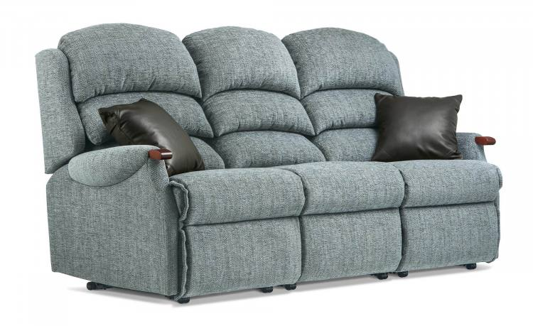 3 Seater sofa pictured with optional scatter cushions