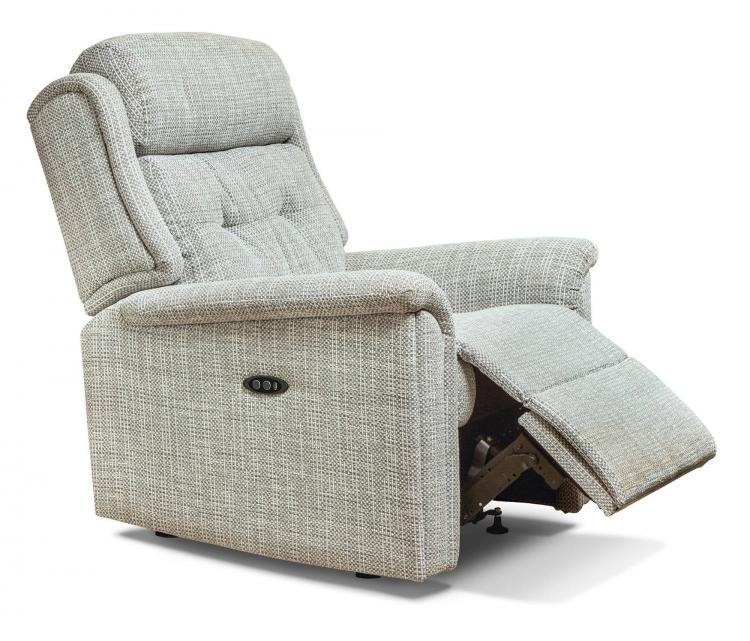 Power recliner in Ravello Silver
